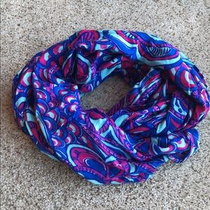 Lilly Pulitzer Blue Scarf